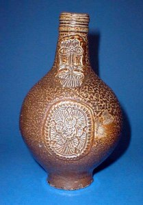 Bellarmine Jug c.1650 (Source: Wikipedia)
