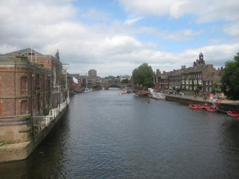 The River Ouse from Bishopsgate Bridge