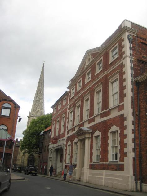 Fairfax House, with St Mary's in the background