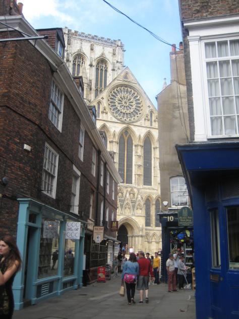 York Minster from Low Petersgate