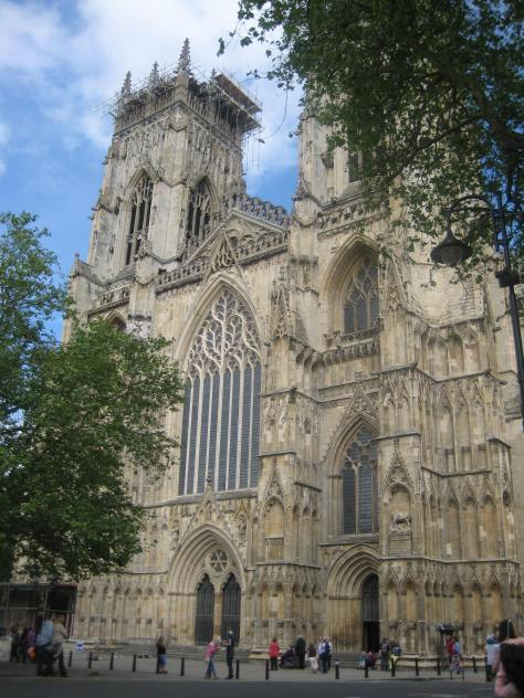 The Western Entrance to York Minster