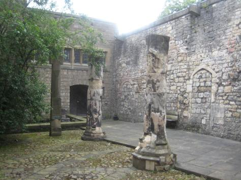 Remains of St Martin-le-Grand
