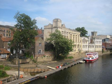 The Guildhall on the River Ouse, from Lendal Bridge