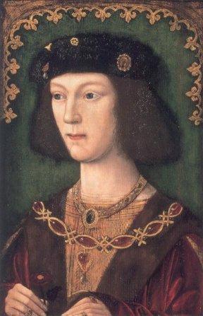 Henry VIII in 1509