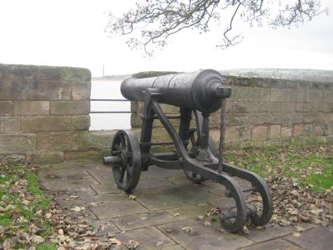Russian Gun at Fisher's Fort at Berwick