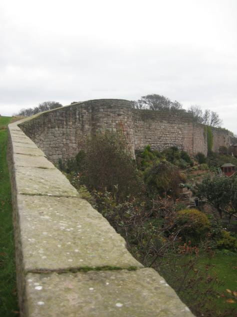 Defensive Wall at Berwick