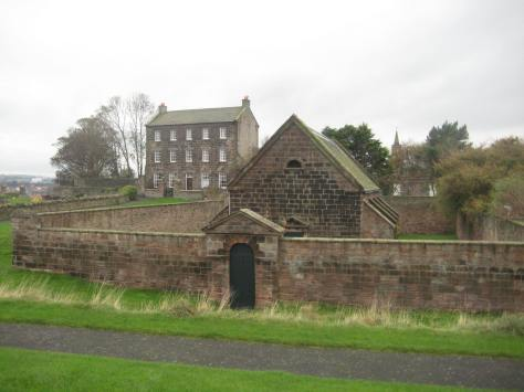 Gunpowder Magazine at Berwick
