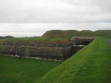 Brass Bastion at Berwick