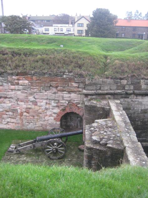 Cumberland Bastion at Berwick