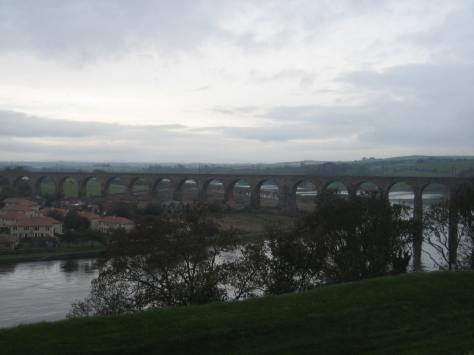 View from Meg's Mount at Berwick